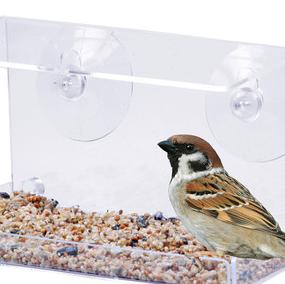 Vogelhaus fürs Fenster