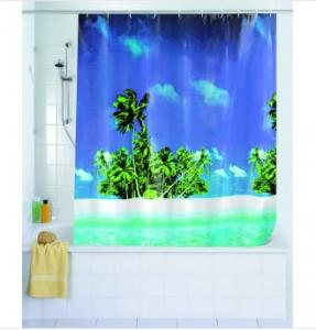 Duschvorhang Palmenstrand