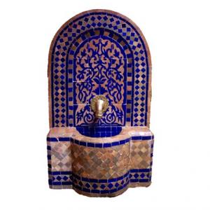 marokkanischer Mosaikbrunnen
